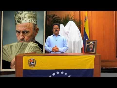 MADURO Y EL BUSTO DE CHAVEZ HUMOR