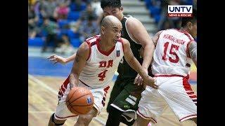 Ex-pro players pinangunahan ang DA sa unang panalo sa  UNTV Cup Season 6 kontra PDEA