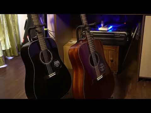 Fender CD60S vs Fender CD60   Review With Sound Comparison