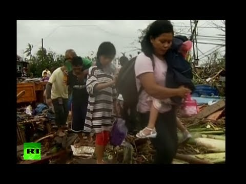 Haiyan Horror: Super-typhoon kills 1,200+ as it ravages Philippines