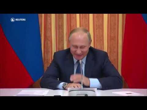 Putin muere... de risa