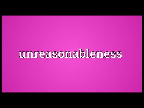 Header of unreasonableness