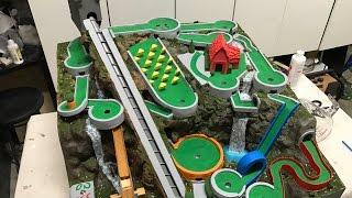 Mini Golf Marble Machine Build, Part 23 (Finale with a Splash)
