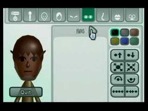 MAKE A Wii MONSTER Mii - Wolfman