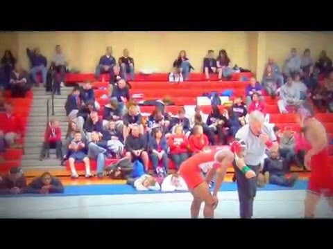 Travis Chidebe Spalding Wrestling Highlights 2012