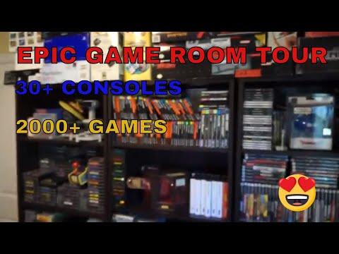 Epic retro game room tour