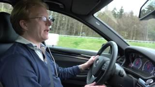 [4k] 320 km/h / 200 mph Alpina B5 BiTurbo Edition 50 German Autobahn (indicated) unlimited speed