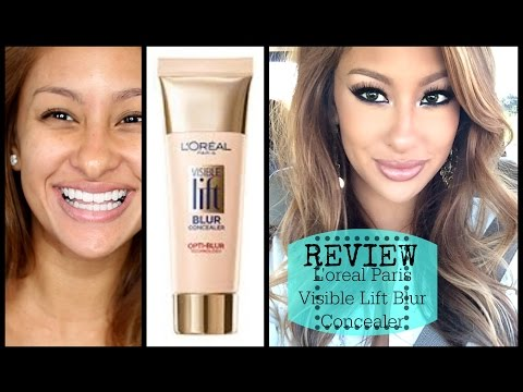 Review/DEMO: Loreal Visible Lift Blur Concealer