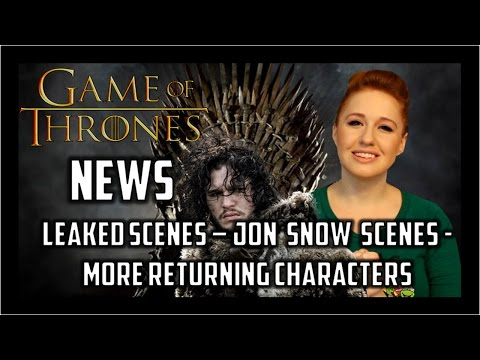 Game of Thrones News: Leaked Scenes, Jon Snow Scenes, Meera