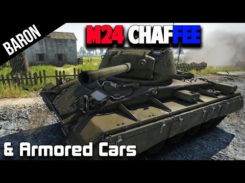 War Thunder 1.45 Tanks Preview - New M24 Chaffee & Armored Car Discussion (War Thunder Tanks)