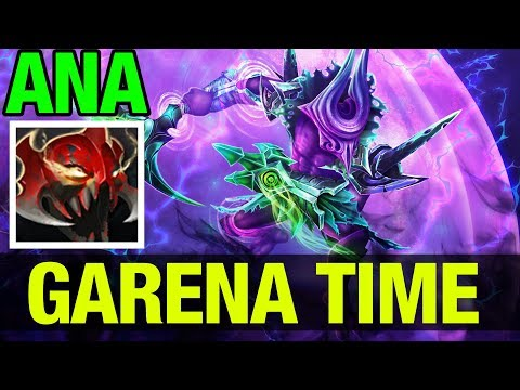 GARENA BUILD !! - OG.ANA Faceless Void Madness - Dota 2
