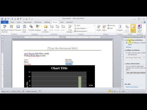 Microsoft Word 2007/2010/2013 Exam Q & A pt 2