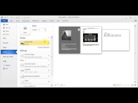 Microsoft Word 2007/2010/2013 Exam Q & A pt 2