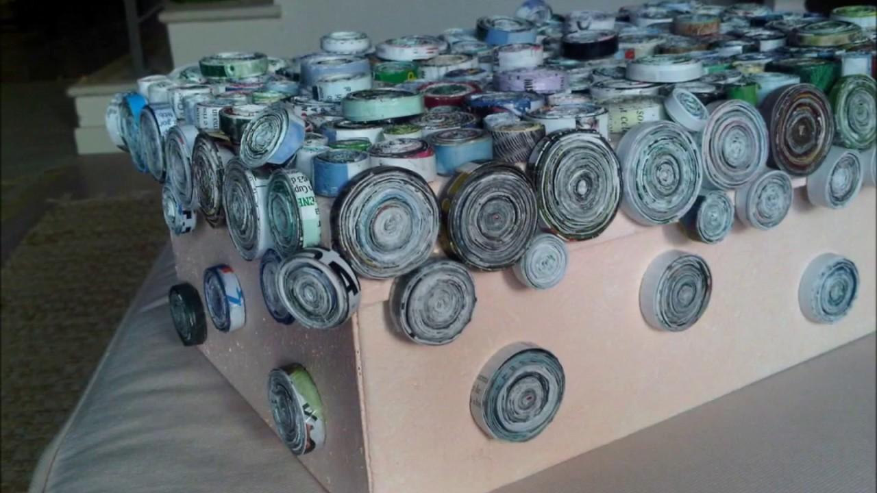 Come riciclare una scatola di scarpe youtube for Rivestire una scatola