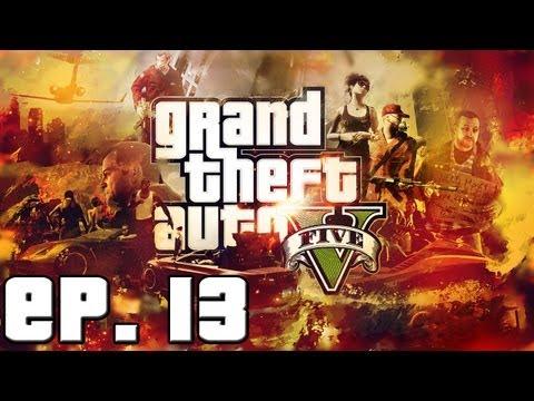 GTA V - Episodio 13 - Un nuevo hombre llega a la ciudad