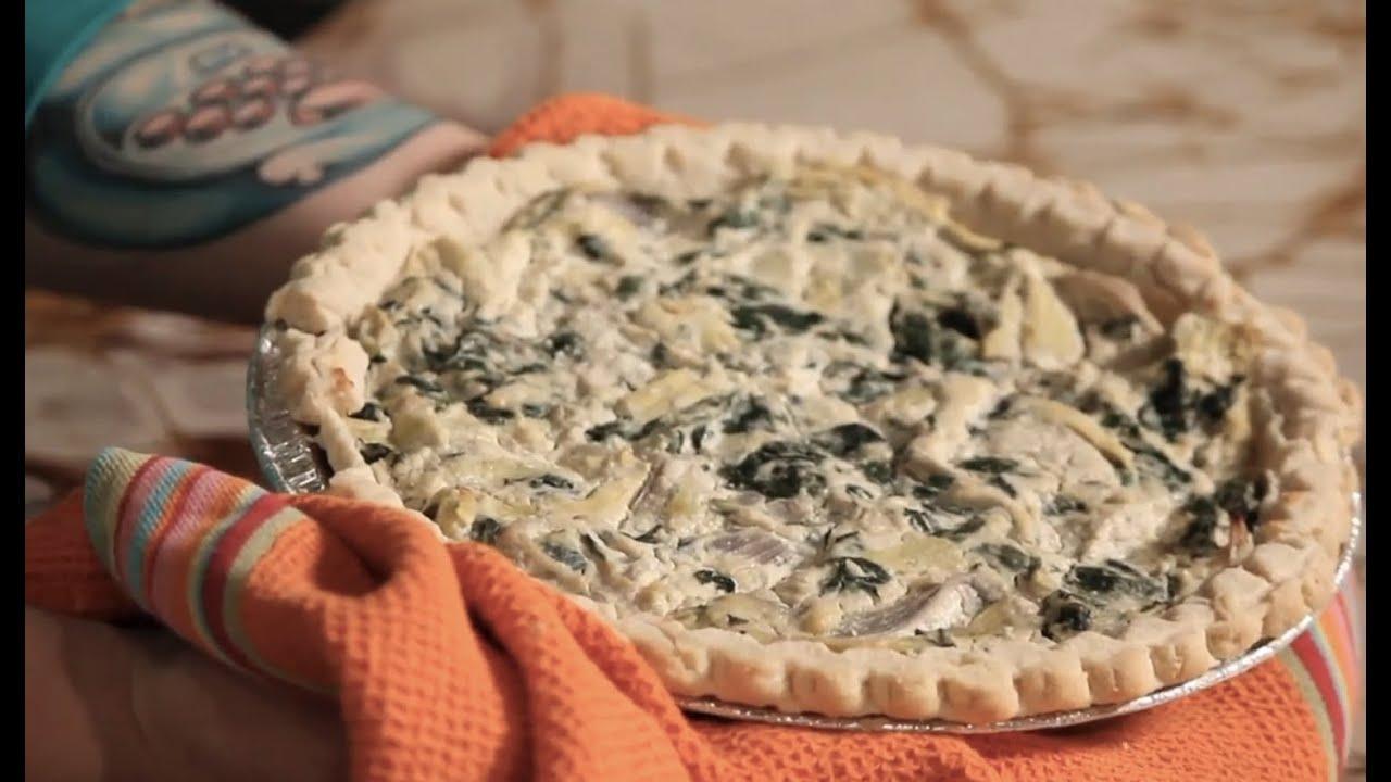 Spinach Artichoke Quiche Spinach Artichoke Quiche