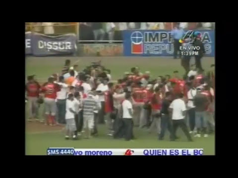 Boer Vs Matagalpa Final 2012