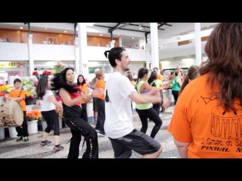 Flashmob Mercado do Livramento, em Set�bal.