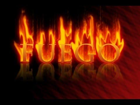 Efecto de fuego: Aprende a crear el texto de fuego en Photoshop CS6/CS3