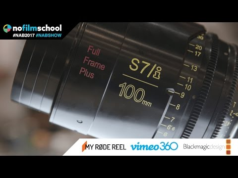 Cooke's New S7/i Line of Primes Designed for Full Frame & Beyond