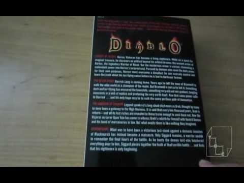 Diablo Archive Hands On Showcase - Blizzard Entertainment Novel Book