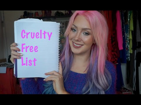 My Cruelty Free MAKEUP List!