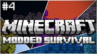 Minecraft: Modded Survival Let's Play Ep. 4 - The Jungle Lives!