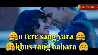 Tere Sang Yaara  Whatsapp Status Song  Rustom  Aks