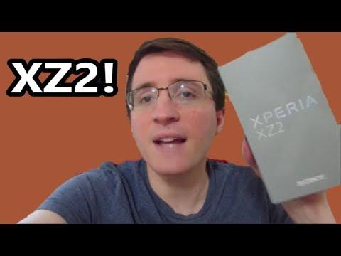 SONY XPERIA XZ2 UNBOXING & VS XZ1 (Mini Speed Test)!
