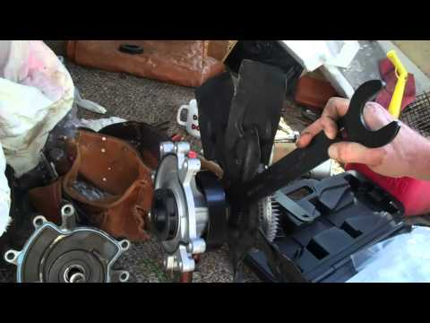 How to change a Dodge Durango Water Pump. Not rocket science.
