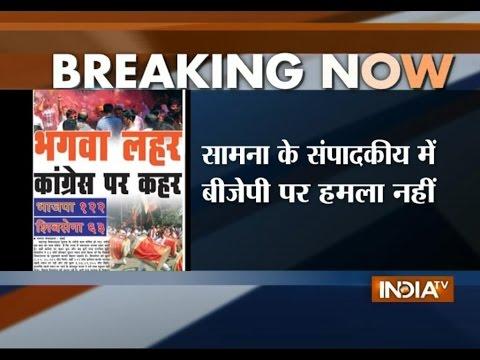 Congress-NCP swept away in saffron wave: Shiv Sena