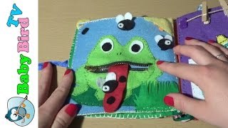Creative baby book homemade for babies and preschool kids