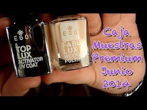 Caja Muestras Premium Junio 2014