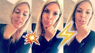 Amélie Neten clashe violemment Kim Glow sur Snapchat !! Les Vacances des Anges 2