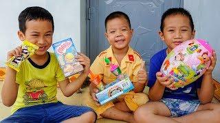 Trò Chơi Bóc Trứng Khổng Lồ - Bé Nhím TV - Đồ Chơi Trẻ Em Thiếu Nhi