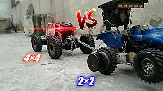 Model Toy Tractor Tochan | Tractor Vs Monster truck