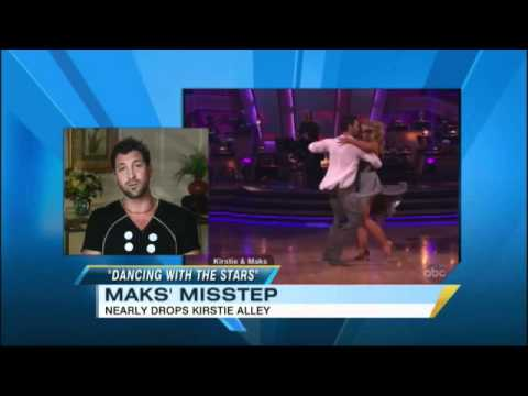 Kirstie Alley Fall on 'Dancing With the Stars': Maksim Chmerkovskiy Explains (04.05.11)
