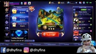 🔴[LIVE] Mobile legends  |  kocak gaming ga bisa tidur main solo