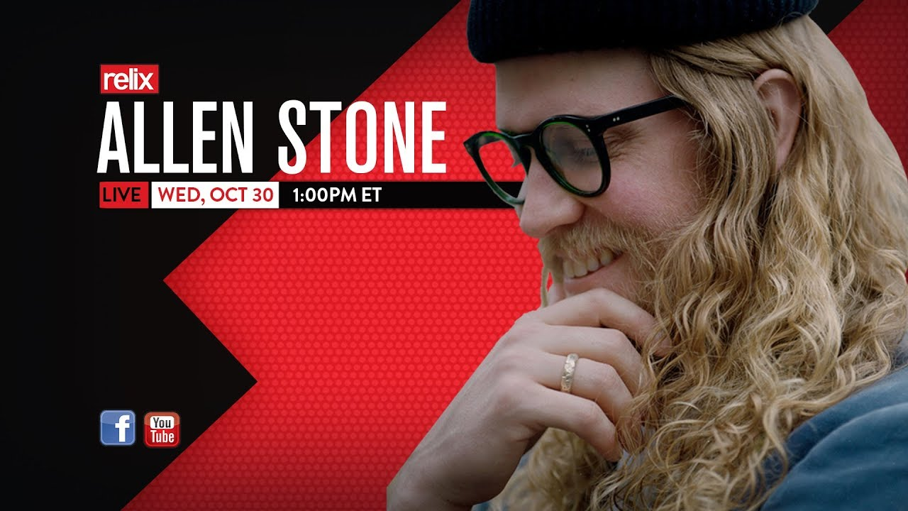 """Allen Stone - 「The Relix Sessions」にて""""Give You Blue""""などをギター弾き語りにて披露 約16分のライブセッション映像を公開 thm Music info Clip"""