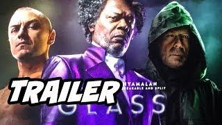 Glass Trailer Comic Con 2018 - Unbreakable Sequel Explained