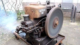 ANTIQUE OLD ENGINES Starting Up And Running Videos || COOL