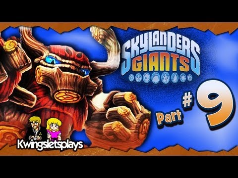 Skylanders Giants Walkthrough Part 9 Wilikin Puppet Glitches (Wii U)