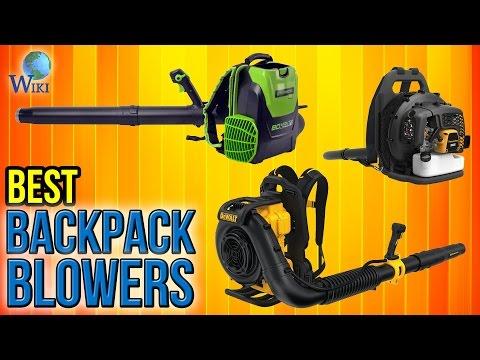 7 Best Backpack Blowers 2017