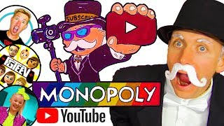DIY 🤑 YouTuber MONOPOLY CHALLENGE!!! Create YouTube Monopoly Board Game - Draw & Color for Kids