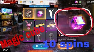 Get Magic cube only 10 to 12 spins!! Free fire!! Hindi!!