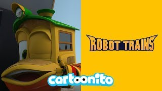Robot Trains | The Train Virus | Cartoonito UK
