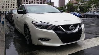 2016 Nissan Maxima First Drive - Fast Lane Daily
