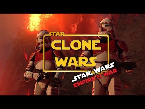 "The Clone Wars Mod - Ep3- ""Raid on Mustafar"" (Star Wars RTS Lets Play)"