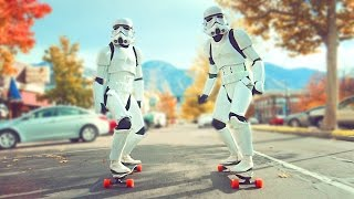 STORMTROOPER BOOSTED BOARD RACE! (Do Not Attempt!) // @ScottDW