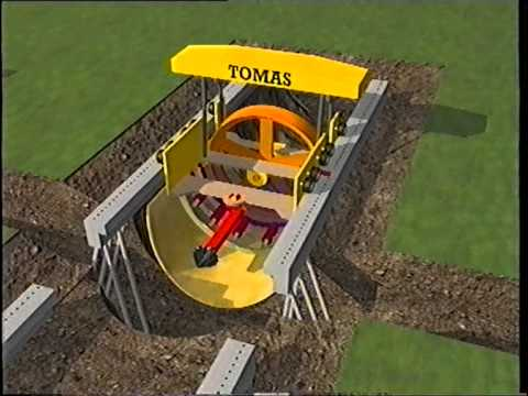 TOMAS Cut And Cover Tunnel Technology YouTube